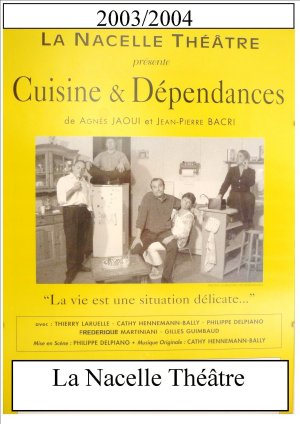La nacelle th tre - Cuisine et dependance theatre ...
